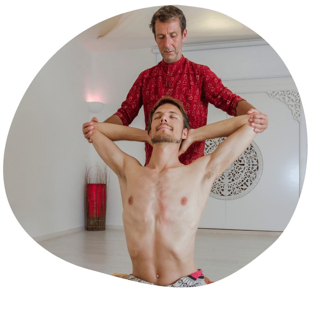 ayurvedische Yoga Massage Therapie