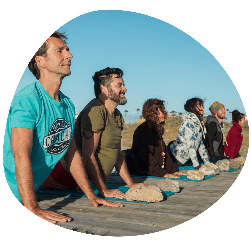 Frank Felten Yoga Teneriffa Tenerife alegría
