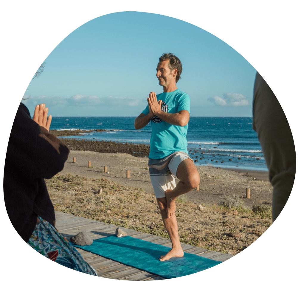 Frank Felten Yoga Teneriffa alegría Tenerife